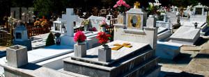 фотографии памятников на кладбище